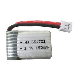 1PC-3-7V-150mAh-Lipo-Battery-651723-JJRC-H36-NH010-Eachine-E010-Quadcopter-drone