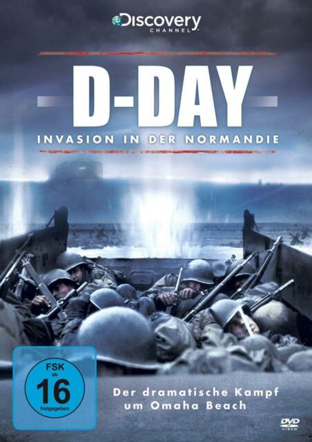 "History DVD ""D-Day - Invasion in der Normadie"" Discovery Channel (2012)"