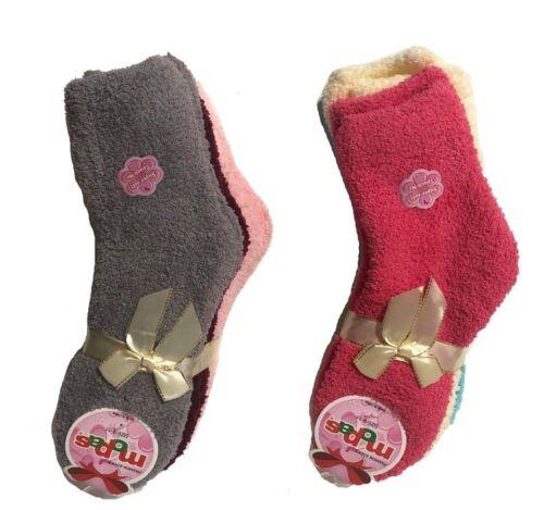 Mopas Cozy Socks Warm Winter Size 9-11 Womens 3 Pairs Quarter Assorted Color