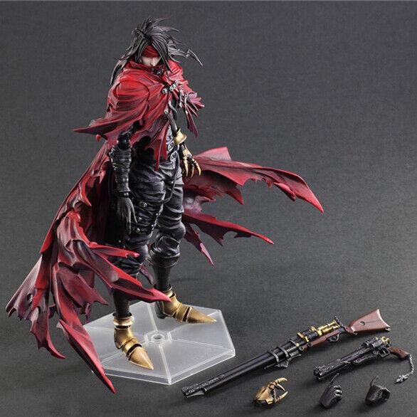 Final Fantasy VII FF7 Dirge of Cerberus Vincent Action Figure Spielfigur Mit Box