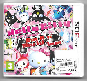 HELLO-KITTY-amp-FRIENDS-ROCK-N-039-WORLD-TOUR-Neuf-sous-blister-Jeu-Nintendo-3DS