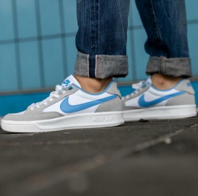 Size 8.5 - Nike Adversary SB Premium Wolf Gray University Blue ...