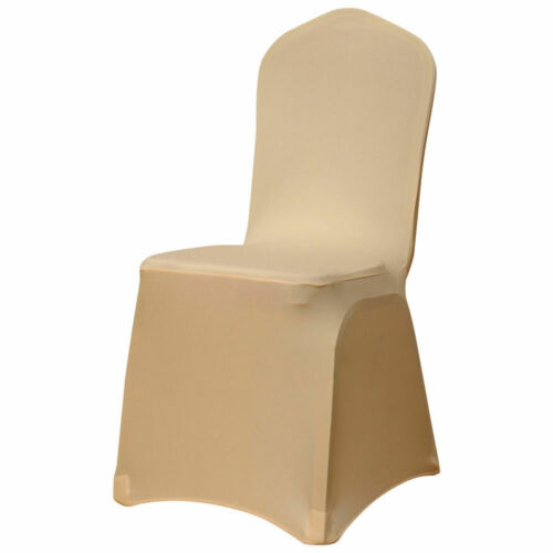 Spandex Stretch Chair Covers Universal Polyester Wedding Banquet Multicolors