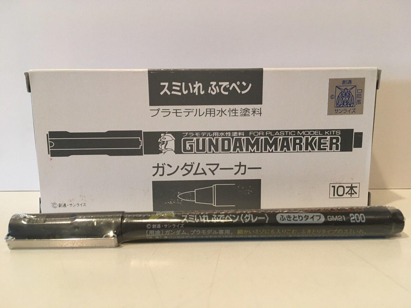 Mr. Hobby Gundam Marker GM13 Mechanical Gray GSI Ceros