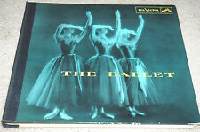 THE BALLET Rare RCA 6113 3 Lp BOOK Munch MONTEAUX Stravinsky RAVEL Delibes