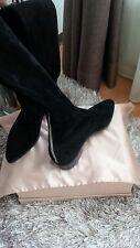 Prada stiefel/ overknee / 37, neu nur an der Sohle paar Kratzer, NP 1700€!!! Wow