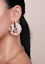 THE-STYLED-COLLECTION-MATISSE-STATEMENT-STUDS-EARRINGS-NEW thumbnail 1