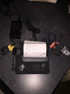SII-Seiko-DPU-3445-20A-Portable-Serial-Thermal-Label-Receipt-Printer-AC-Adapter