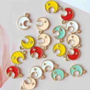 10pcs Poodle Drip oil Pendant Fit Necklace bracelet Pendant Accessories DIY