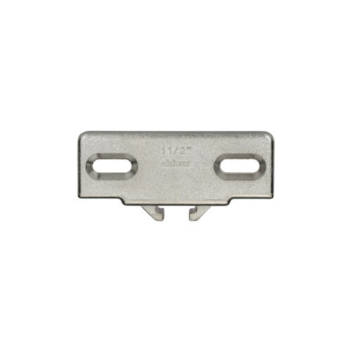 """Blum 1-1//2/"""" Overlay Edge Mount Mounting Plate For Compact 33 Hinges 130.1150.02"""