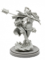 Pinup-Twilight-Witch-Model-for-Kingdom-Death-Game-Resin-Figure-Recast-30mm