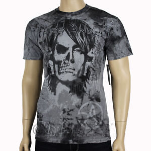 Affliction-Mens-Signature-Series-By-Criss-Angel-Mindfreak-T-shirt-Top-Tee-Large