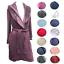 UGG-Australia-Women-039-s-Duffield-Robe-Spa-UA4101W-Collar-Belted-Shawl-Long miniatura 2