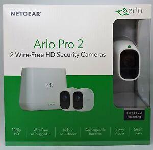 Netgear Arlo pro 2 vms4230p 2-hd - cámara sistema de seguridad vms4230p-100eus nuevo embalaje original