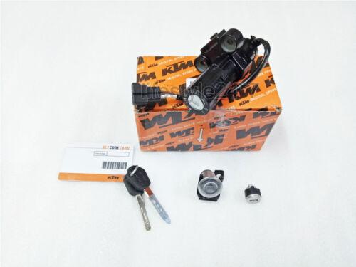 KTM Duke 200 390 Lock Set 3in1