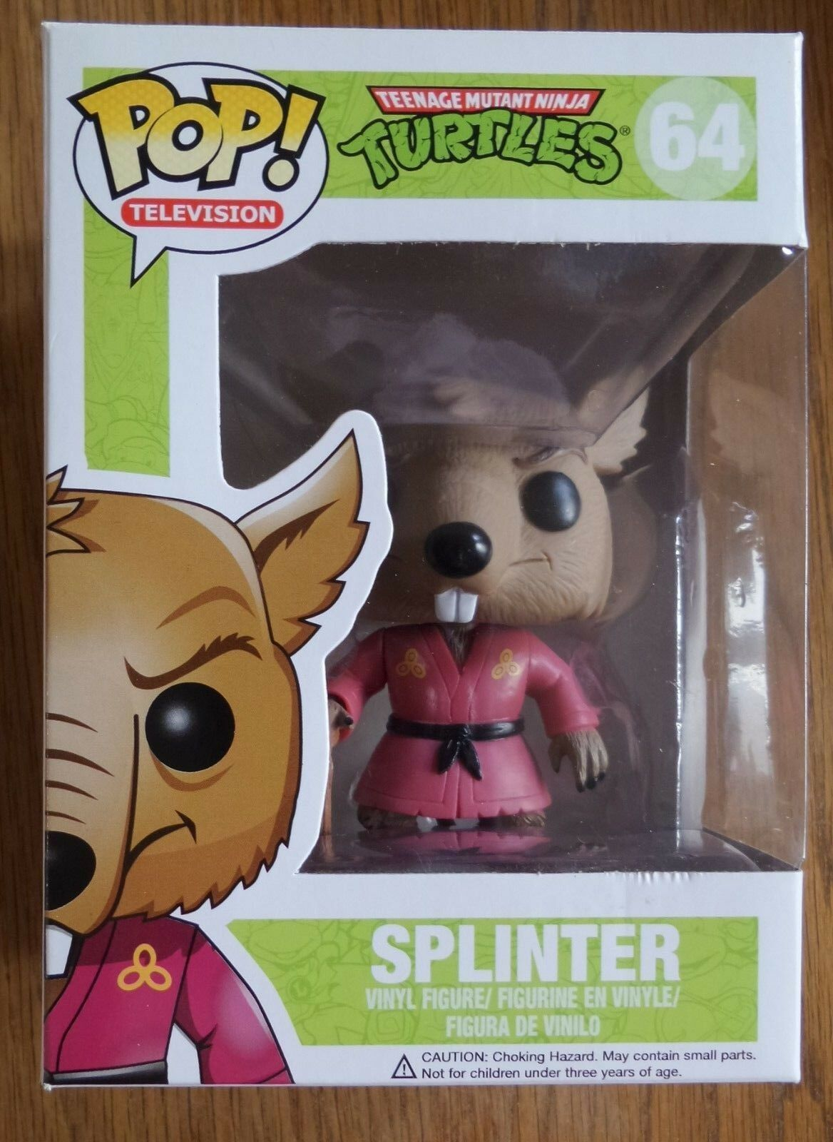 Funko Pop  Teenage Mutant Ninja Turtles 64 Splinter