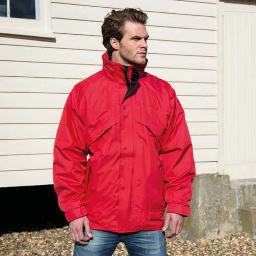Result Men/'s 3 In 1 Zip Clip Jacket R068X Winter Warm Hooded Waterproof Coat