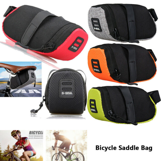 Outdoor Bike Saddle Bag Bicycle Under Seat Storage Tail Pouch Cycling Bags