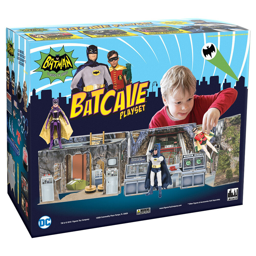 Batman Classic Classic Classic TV Series Batcave Retro Playset 913