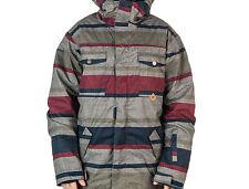 DC Shoes Servo 14 Snowboard Jacket (M) Wool Worksman Stripe