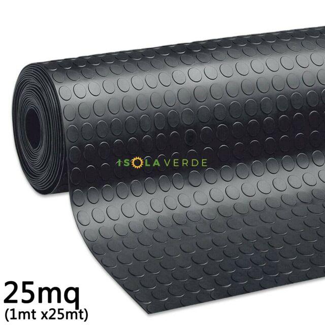 200 ANTISCIVOLO TAPPETO BULLONATO PAVIMENTO PVC BOLLI MM 1,2 ALTEZZA CM 100