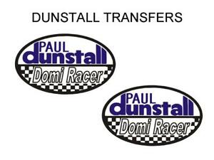 Dunstall-Domi-Racer-Tank-Transfers-Decals-Sold-as-a-Pair-DDUN12-Blue-White