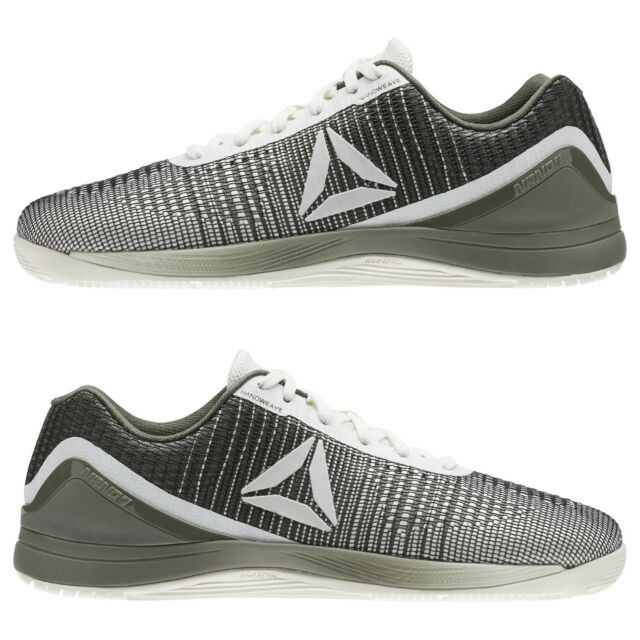 Men s Reebok CrossFit Nano 7 Weave Green Training Weightlifting Fitness  BS9641 a76074e54