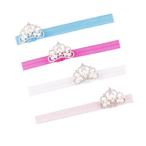 Hot-Fashion-Baby-Infant-Toddler-Girl-Princess-Crown-Pearl-Headband-Hair-Band