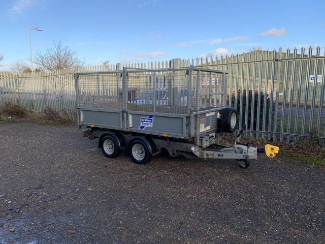 Ifor Williams Tipping Trailer with Cage 10ft *HIRE*