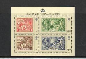 GB-2010-Commemorative-Stamps-Festival-Seahorse-M-S-Unmounted-Mint-Set-UK