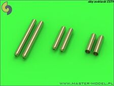 20mm /& 0.5in BROWNING M2 BARRELS TO F6F-5N HELLCAT #32080   1//32 MASTER