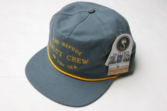 8cca7b1099d7f Salty Crew Bedford 5 Panel Hat (blue Jean) for sale online