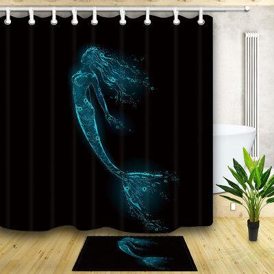 South American Macaw Shower Curtain Bathroom Decor Fabric /& 12hooks 71x71in