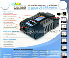 Ring MP300 Digital Read Out 300w 12v DC-230v AC Mains Power Inverter with USB