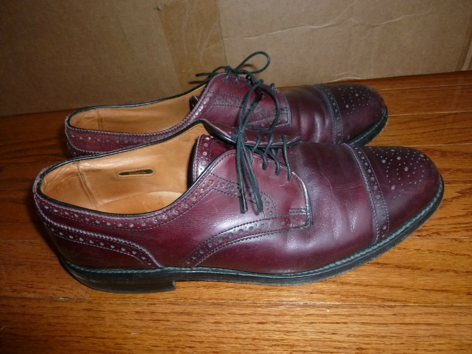una marca di lusso WOW  Allen Edmonds Edmonds Edmonds Dark Burgundy Lexington 11C Leather USA Goodyear Welted  con il prezzo economico per ottenere la migliore marca