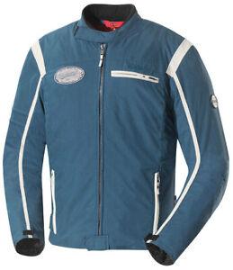 IXS-Textiljacke-Ridley-Blau-Elfenbein-Motorradjacke-Gr-L