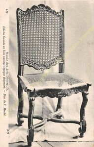 Postcard-Arts-Decorative-Furniture-Chaise-Chania-Period-Regency-Edit-ND-410