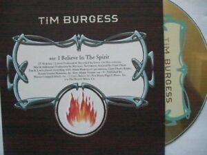 Tim burgess singles