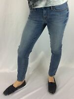 J. Crew Women's Light Wash Skinny Jeans Pants Inseam 30 With Tags Waist 25