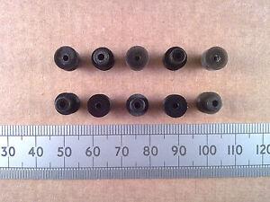 Qty-10-8mm-Diameter-Miniature-Model-Belt-Pulleys-for-2mm-Motor-Shafts