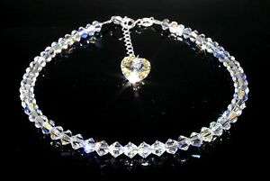 Sparkly-Crystal-AB-Heart-Charm-Bracelet-made-with-SWAROVSKI-ELEMENTS-GiftWrapped