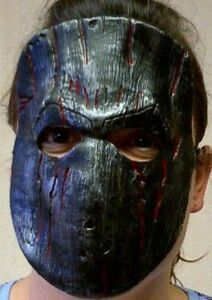 Child Cruel Count 1//2 Mask Scary Restraint Iron Look