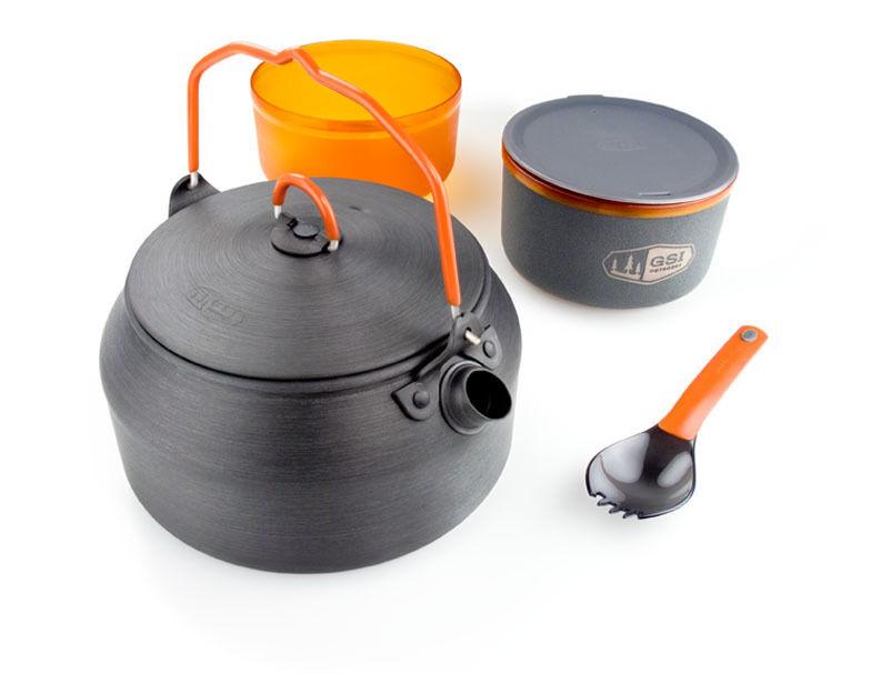 GSI Outdoors halulite ketalist 50163-solución integrada de cocina + Comer