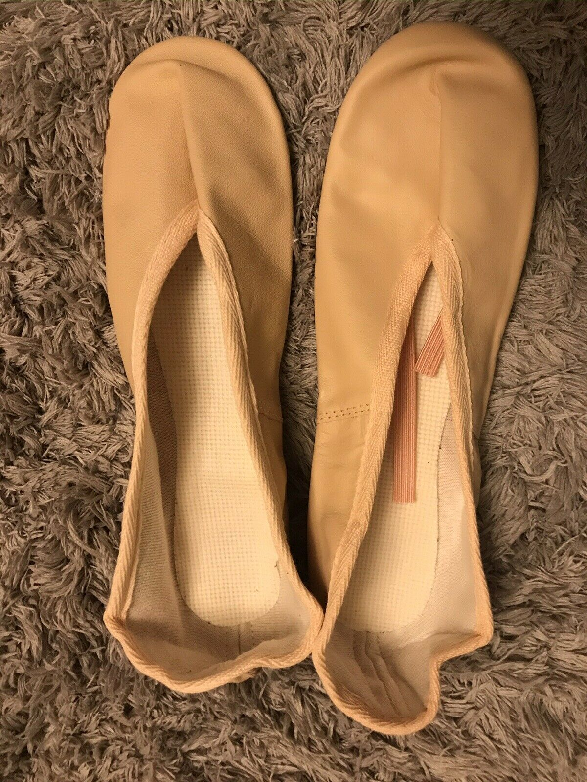 Dance Gear Direct Pink Leather Ballet Shoes Size 6