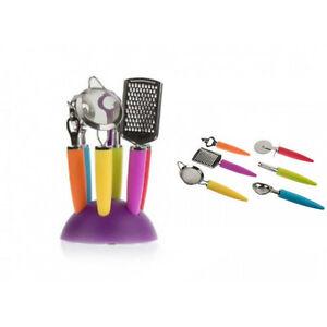 7-Pieces-Acier-Inoxydable-Jeu-D-039-outils-Anti-Adhesif-Nylon-Outil-Cuisine