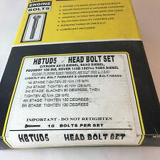 CITROEN SAXO PEUGEOT 106 ROVER TUD5 DIESEL MODELS ENGINE HEAD BOLT SET HBTUD5
