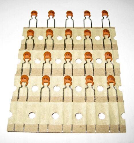 20 Piece 330pf//500v y5p 10/% Ceramic Capacitors m0505