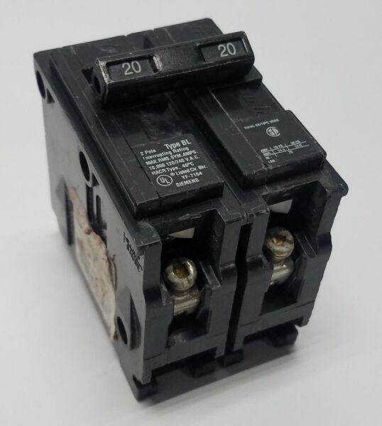 siemens gould ite b220 20 amp 120 240 vac 2 pole circuit. Black Bedroom Furniture Sets. Home Design Ideas