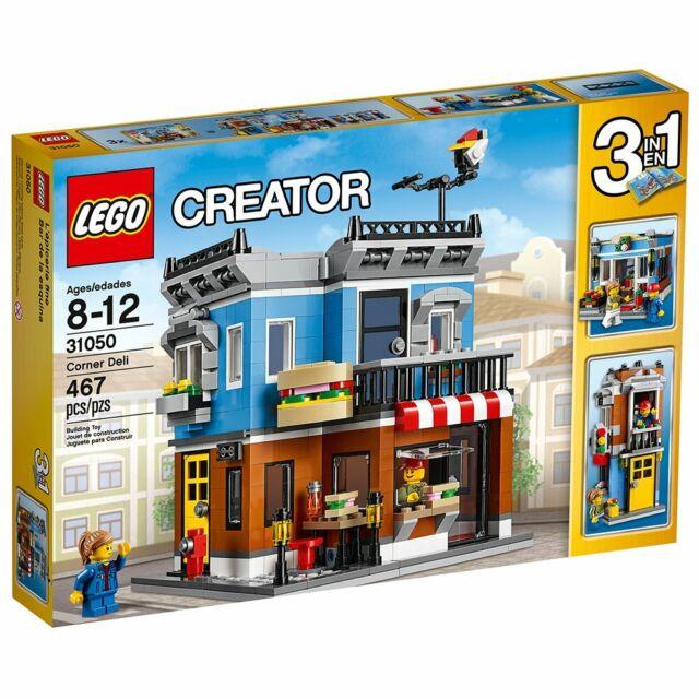Lego City Town Creator 31050 CORNER DELI Townhouse Flower Shop NEW