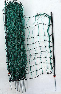 Zaun grünes Garten Netz 65cm hoch bis 50m Kaninchenzaun Kleintierzaun Hasenzaun